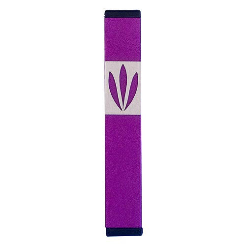 LEAVES SHIN MEZUZAH - SMALL - MZ-192 - Agayof Judaica
