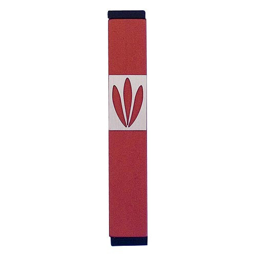 LEAVES SHIN MEZUZAH - SMALL - MZ-193 - Agayof Judaica