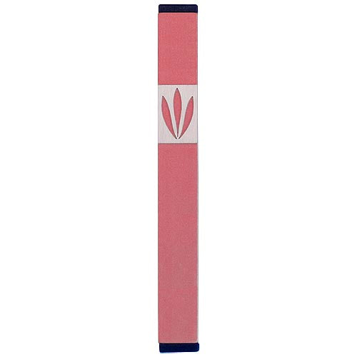 LEAVES SHIN MEZUZAH - MEDIUM - Agayof Judaica