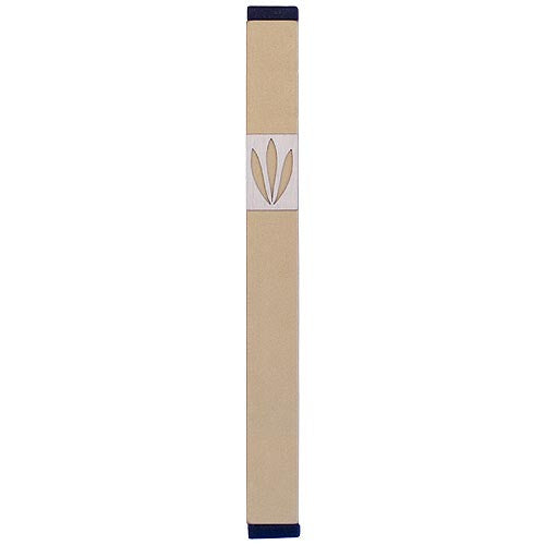 LEAVES SHIN MEZUZAH - LARGE - MZ-206 - Agayof Judaica