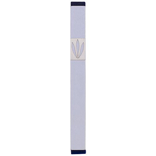 LEAVES SHIN MEZUZAH - LARGE - MZ-207 - Agayof Judaica