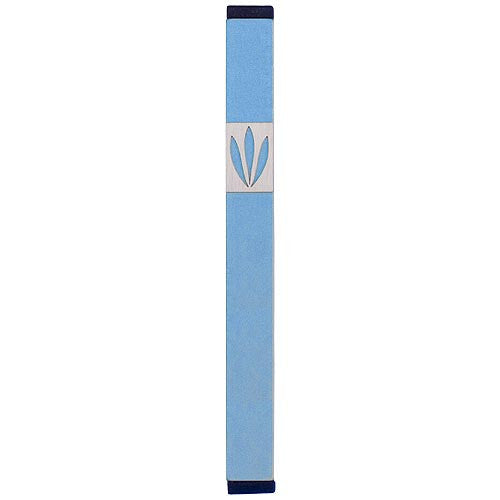 LEAVES SHIN MEZUZAH - LARGE - MZ-210 - Agayof Judaica