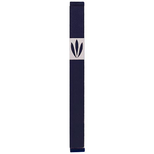 LEAVES SHIN MEZUZAH - LARGE - MZ-215 - Agayof Judaica