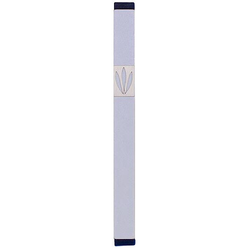 LEAVES SHIN MEZUZAH - XL - MZ-217 - Agayof Judaica