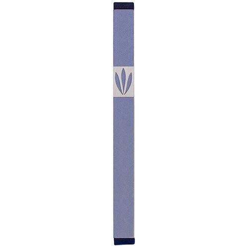 LEAVES SHIN MEZUZAH - XL - MZ-218 - Agayof Judaica