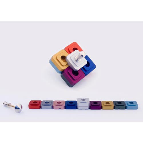 THE DREIDEL - MENORAH - Agayof Judaica