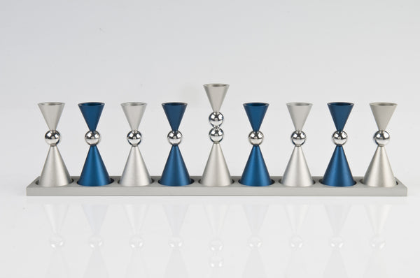 The Mini Ball Menorah - Agayof Judaica