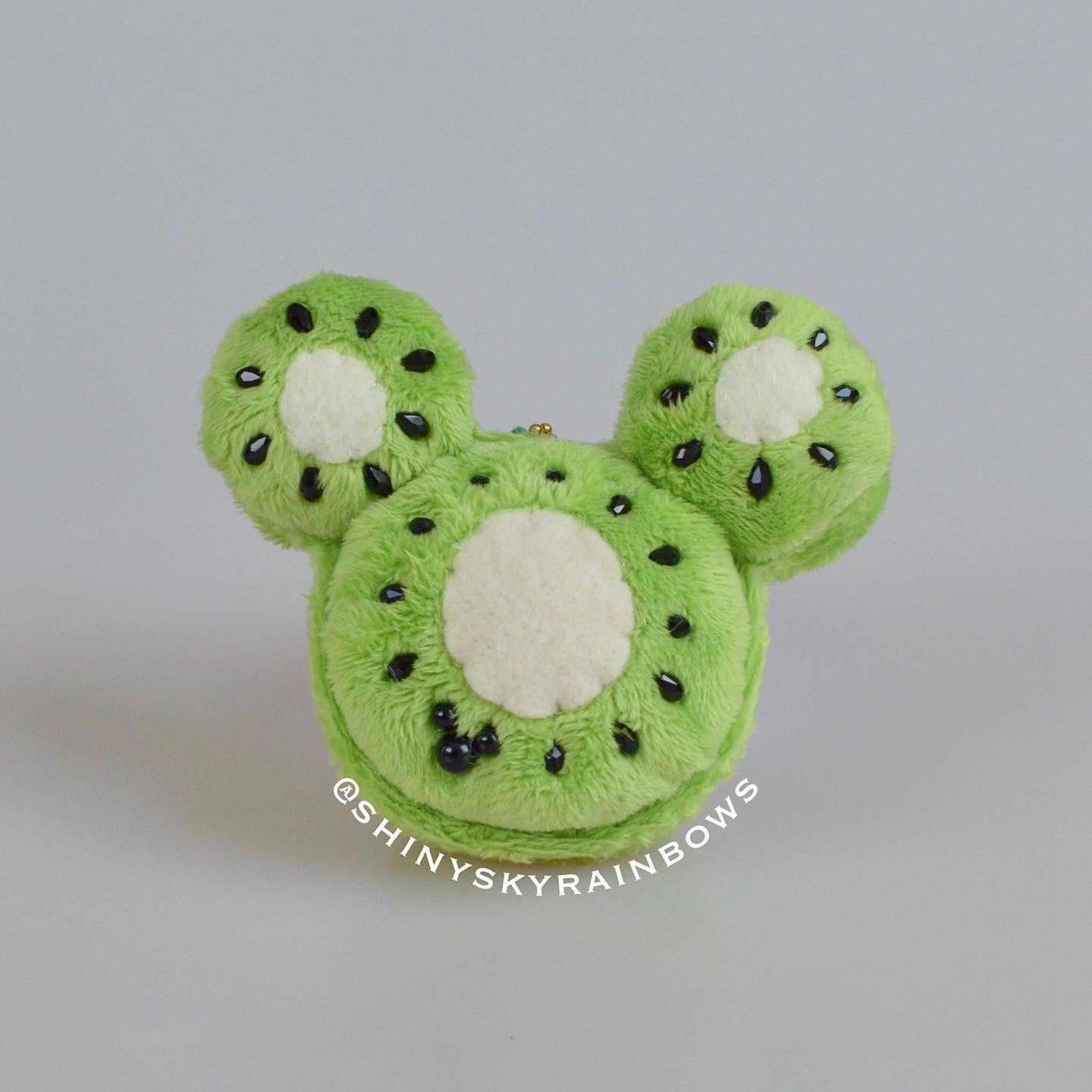 Kiwi Fruit Macaron Plush accessory