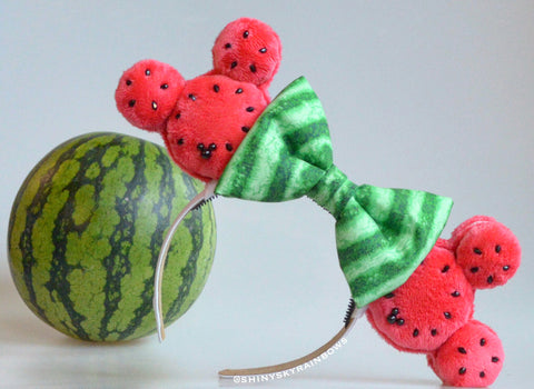 (Coming soon, February 23rd at 8pm EST/ 5pm PST) Watermelon Macaron Ears
