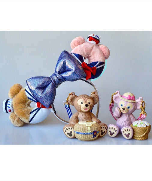 (Coming soon, February at 8pm EST/ 5pm PST *Ship in 6-10 business days) A pair of Mix and Match Sailor bear and friends Doughnut Ears, Please message us your Mix and Match choice after your purchase