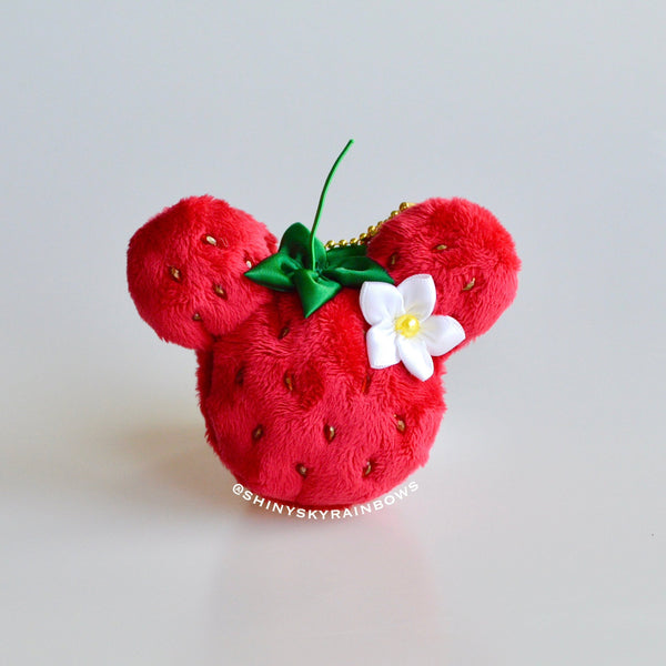 Strawberry Macaron Plush accessory