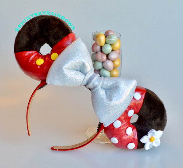 Mr. and Miss Mouse Chocolate Donut Ears