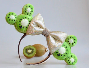 (Coming soon, February 23rd at 8pm EST/ 5pm PST) Kiwi Fruit Macaron Ears