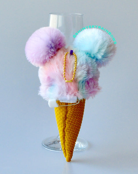 Rainbow Sherbet Plush accessory