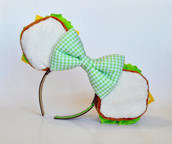 (Coming soon, November 11th at 8pm EST/ 5pm PST *ship in 6-10 business days) A pair of Sandwich Ears