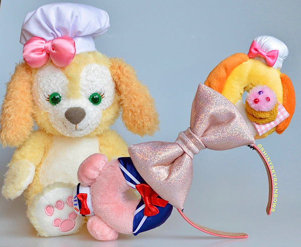 (Coming soon, January 26th at 8pm EST/ 5pm PST) Miss. Sailor Bear and Foodie Dog Donut Ears