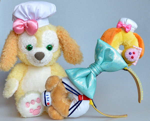 Mr. Sailor Bear and Foodie Dog Donut Ears