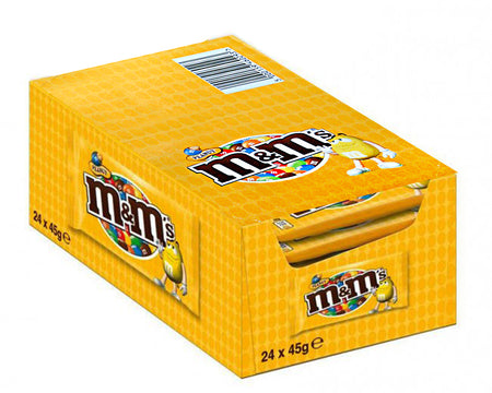 Espositore M&M's Gialli 45g (24 pz)