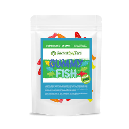 CBD Sugar Free Gummies - 20 per Bag - 12.5MG Each