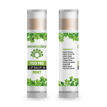 Sacred Leaf best CBD lip balm