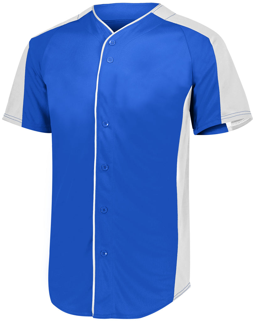 Augusta Sportswear Youth Full Button Baseball Jersey 1656