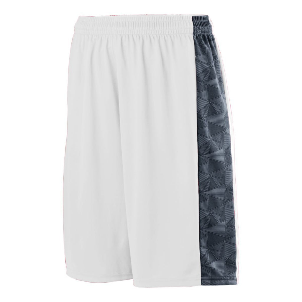 Augusta Sportswear Adult Fast Break Game Shorts 1724 C
