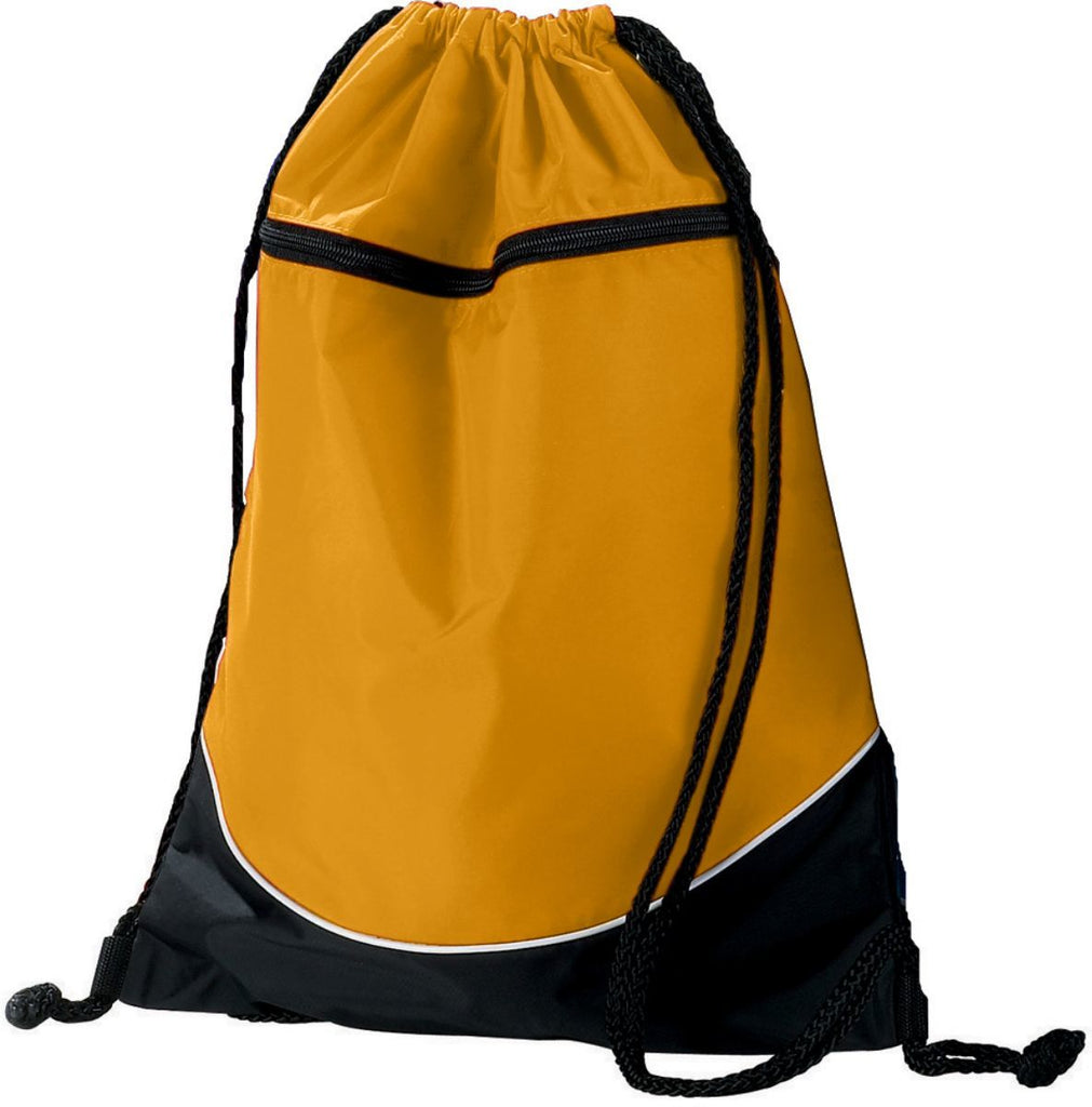 Augusta Sportswear Tri Color Drawstring Backpack 1920