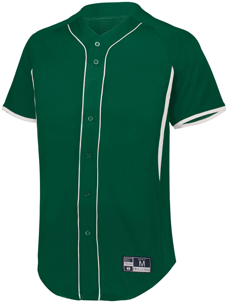 Augusta Sportswear Adult Game7 Full Button Baseball Jersey 221025