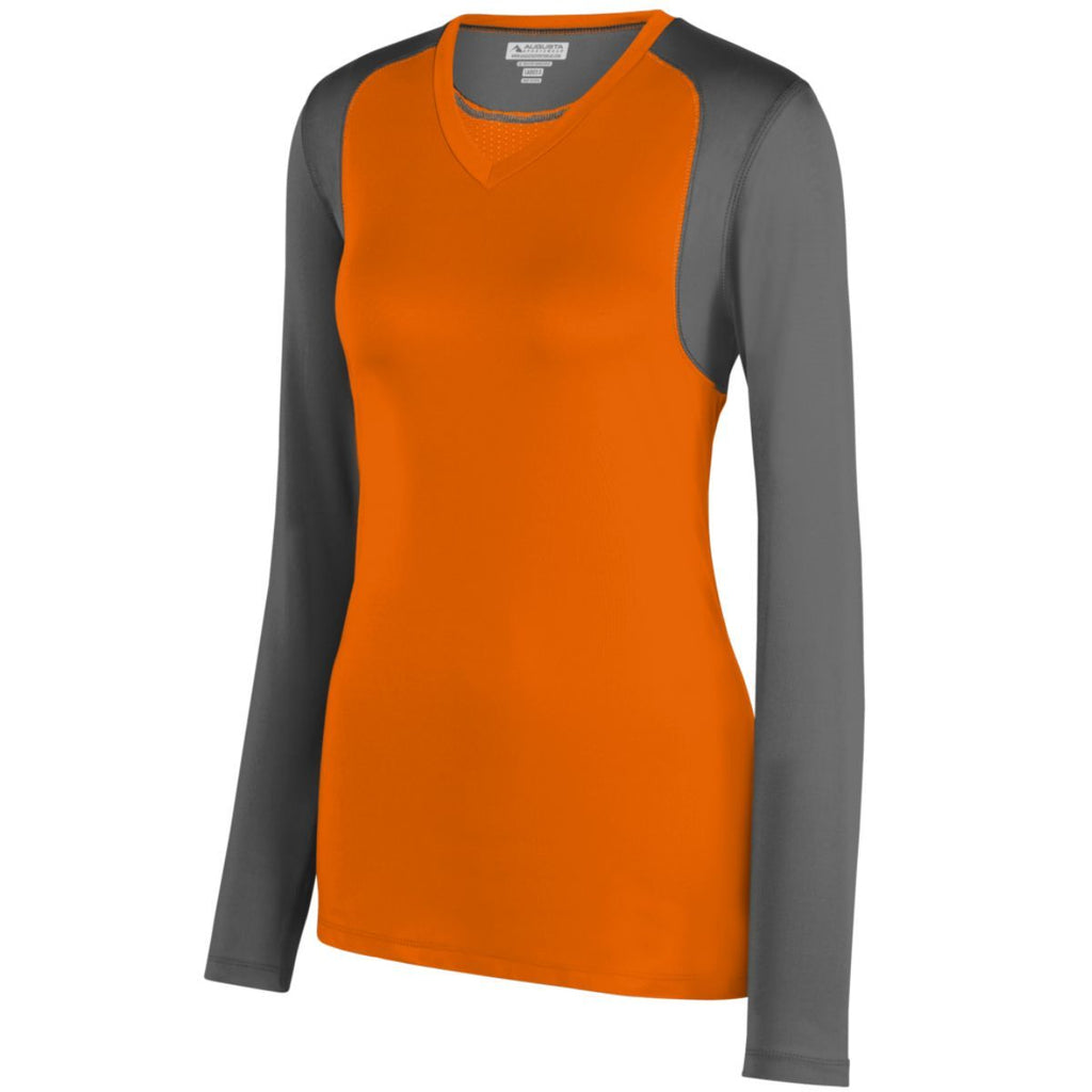 Augusta Sportswear Women Astonish Long Sleeve Jersey 2522 C