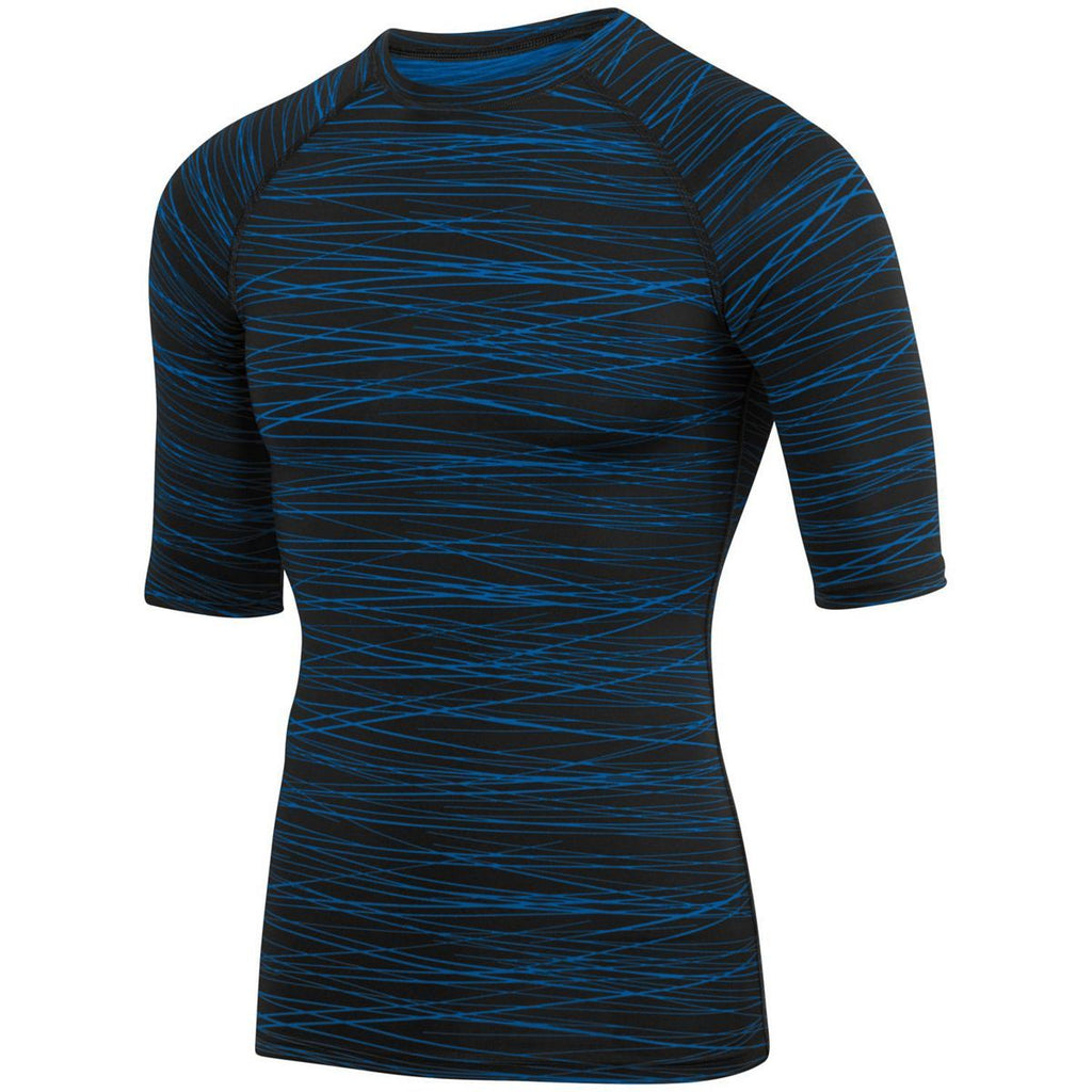 Augusta Sportswear Youth Hyperform Compression Half Sleeve Tee 2607