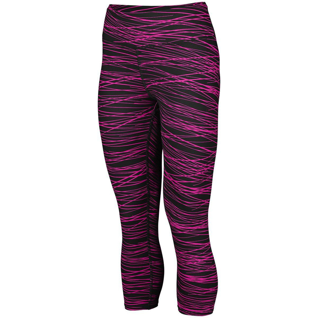 Augusta Sportswear Women Hyperform Compression Capri 2628