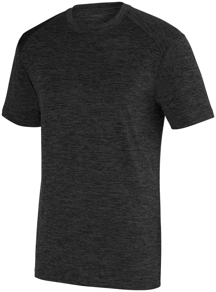 Augusta Sportswear Adult Intensify Black Heather Training Tee 2950 C