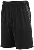 Augusta Sportswear Adult Intensify Black Heather Training Shorts 2960 C