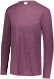Augusta Sportswear Youth Tri Blend Long Sleeve Crew 3076
