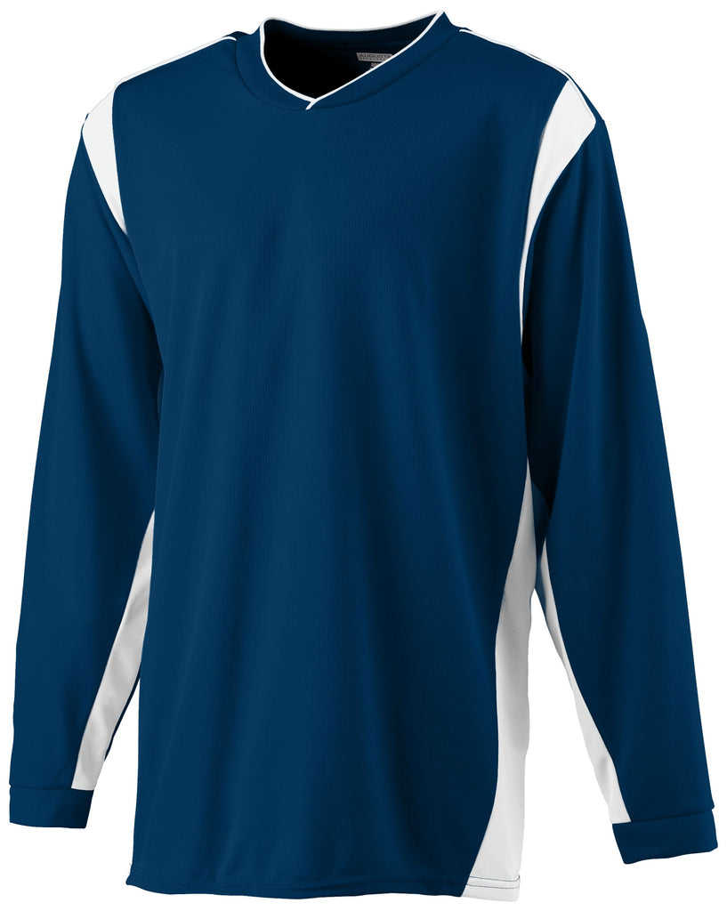 Augusta Sportswear Adult Wicking Long Sleeve Warm Up Shirt 4600 C