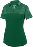 Augusta Sportswear Women Shadow Tonal Heather Polo 5413