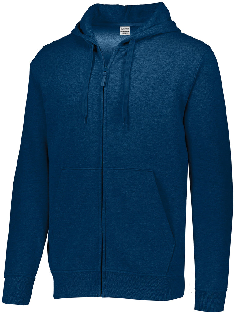 Augusta Sportswear Adult Fleece Full Zip Hoodie 5418