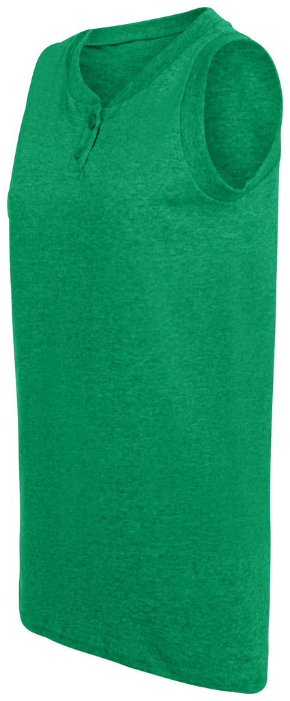 Augusta Sportswear Women Sleeveless Two Button Softball Jersey 550