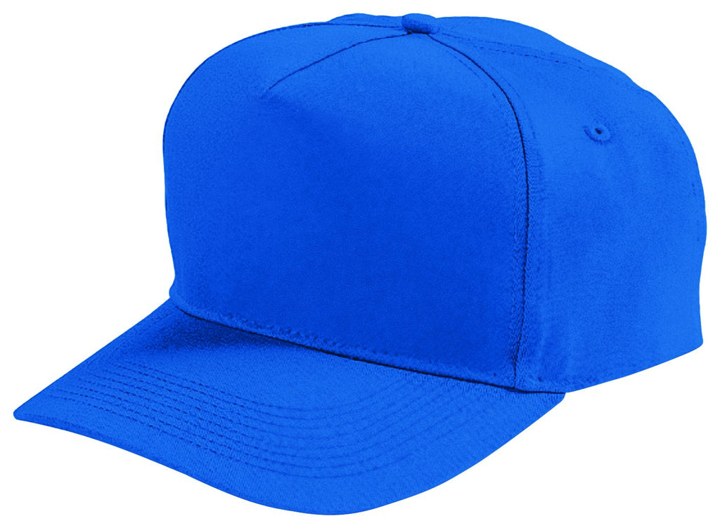 Augusta Sportswear Adult Five Panel Cotton Twill Cap 6202