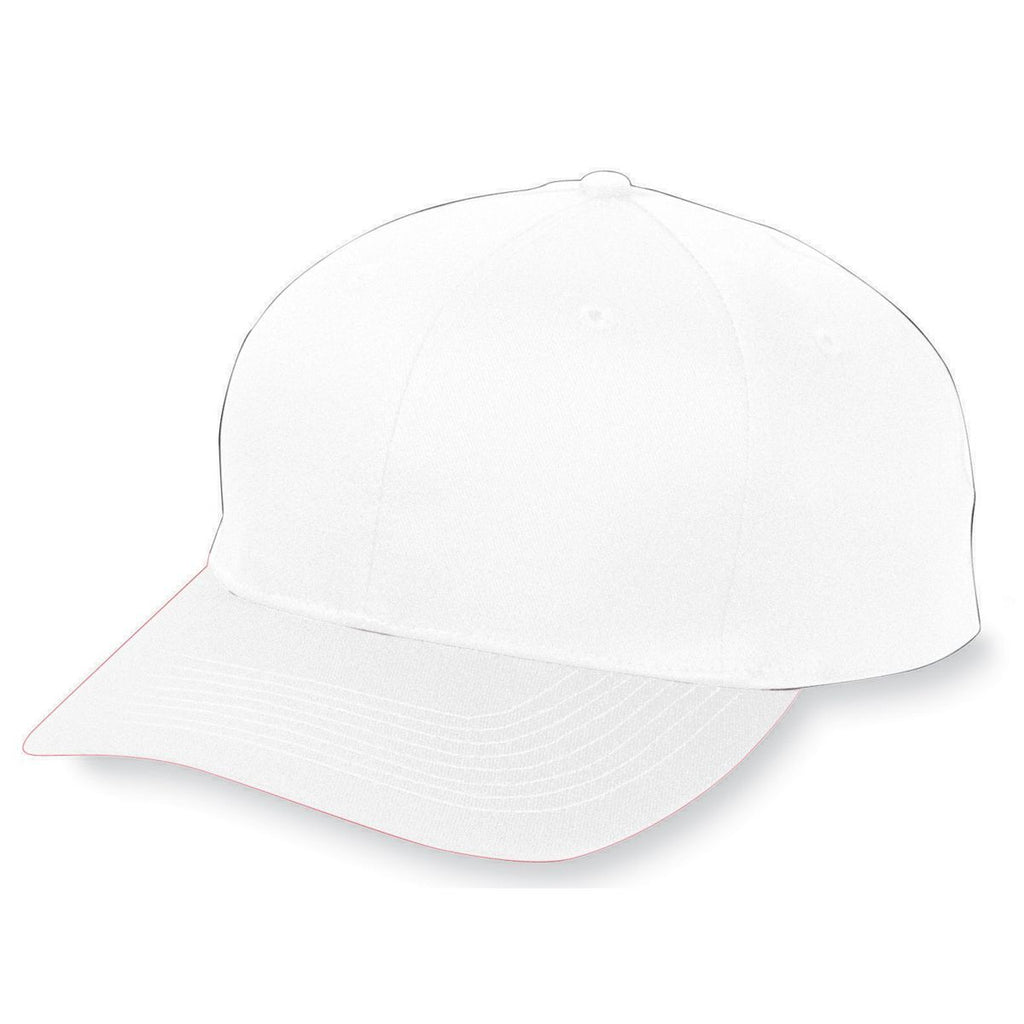 Augusta Sportswear Youth Six Panel Cotton Twill Low Profile Cap 6206