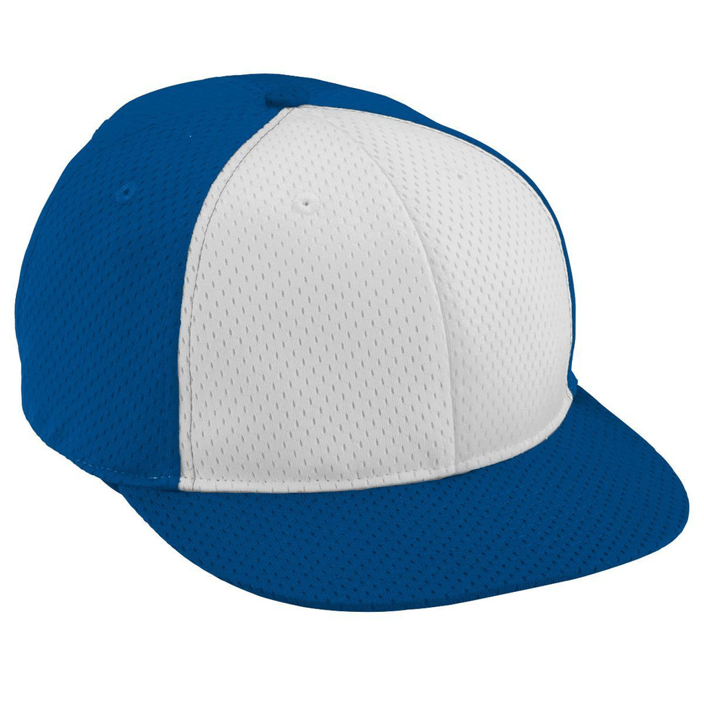 Augusta Sportswear Adult Athletic Mesh Flat Bill Cap 6255 C