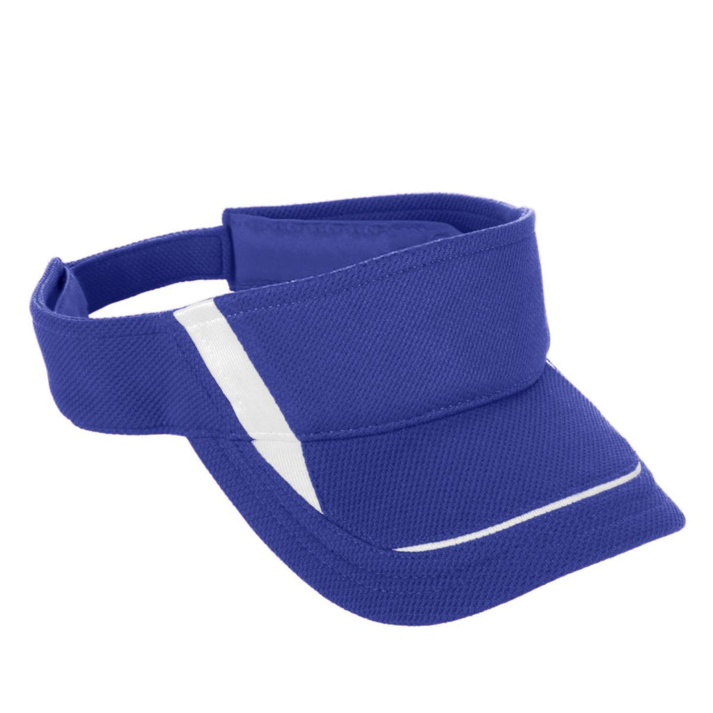 Augusta Sportswear Youth Adjustable Wicking Mesh Edge Visor 6276 C