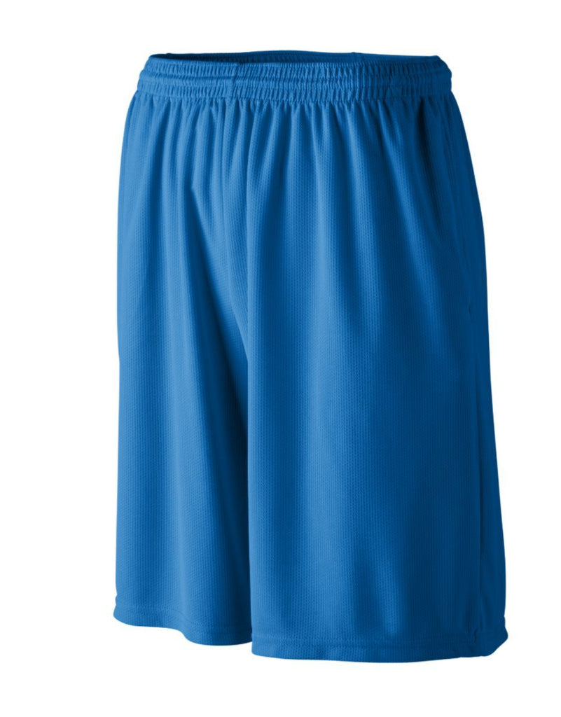 Augusta Sportswear Adult Longer Length Wicking Shorts With Pockets 803
