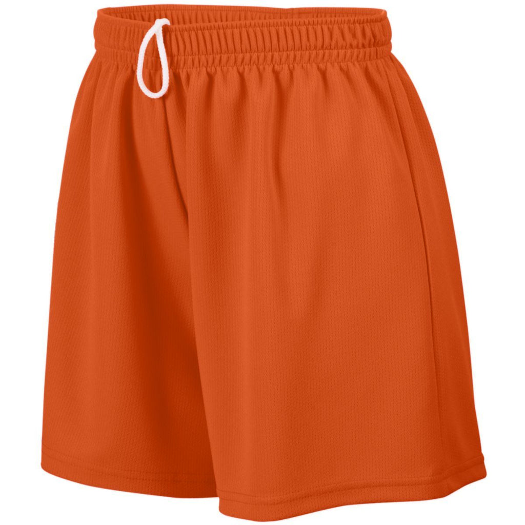 Augusta Sportswear Girls Wicking Mesh Shorts 961