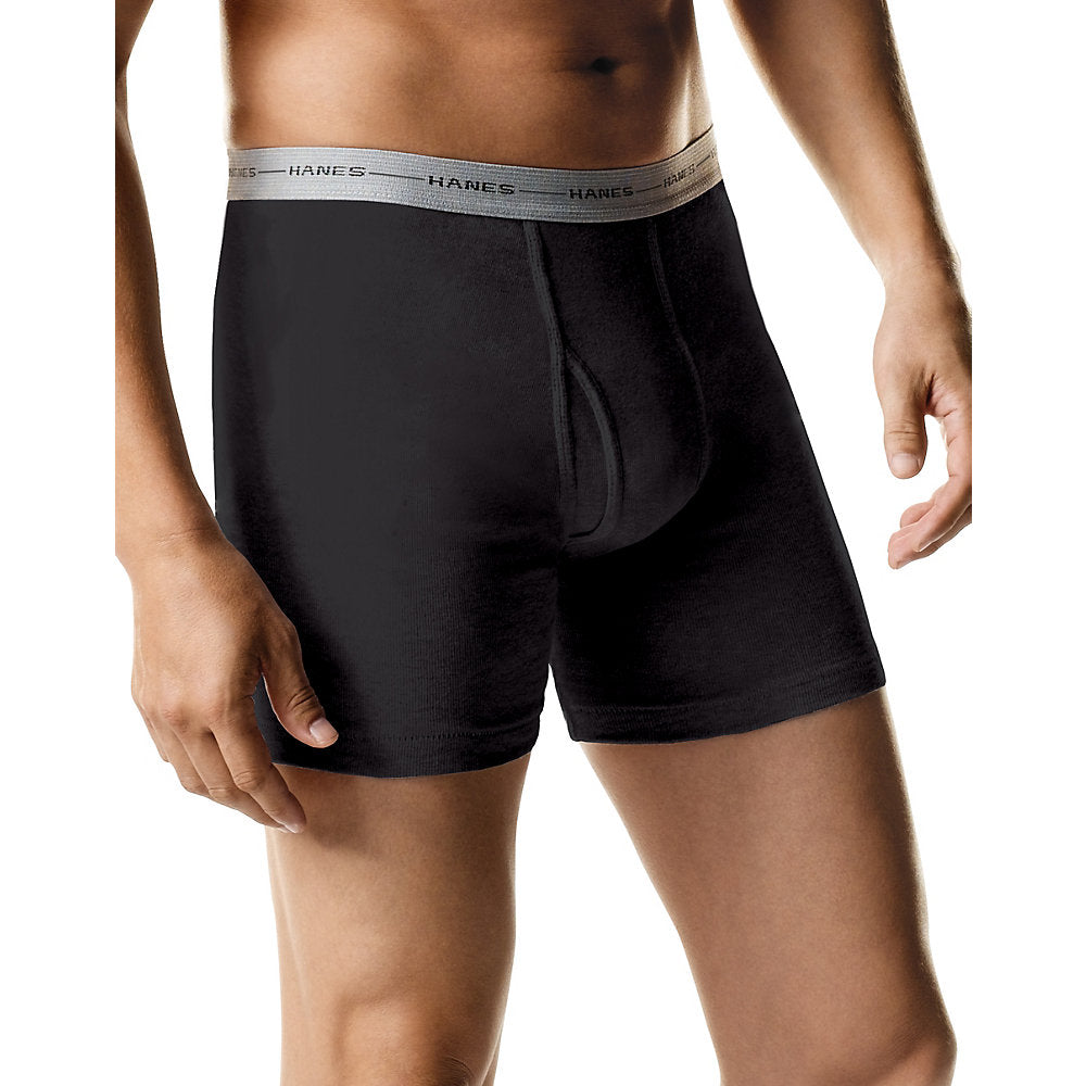 Hanes Men's Boxer Briefs with Comfort Flex Waistband 5-Pack - 2349Z5