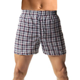 Hanes Men's TAGLESS Woven Boxers with Comfort Flex Waistband 3X-5X 3-Pack - H155W