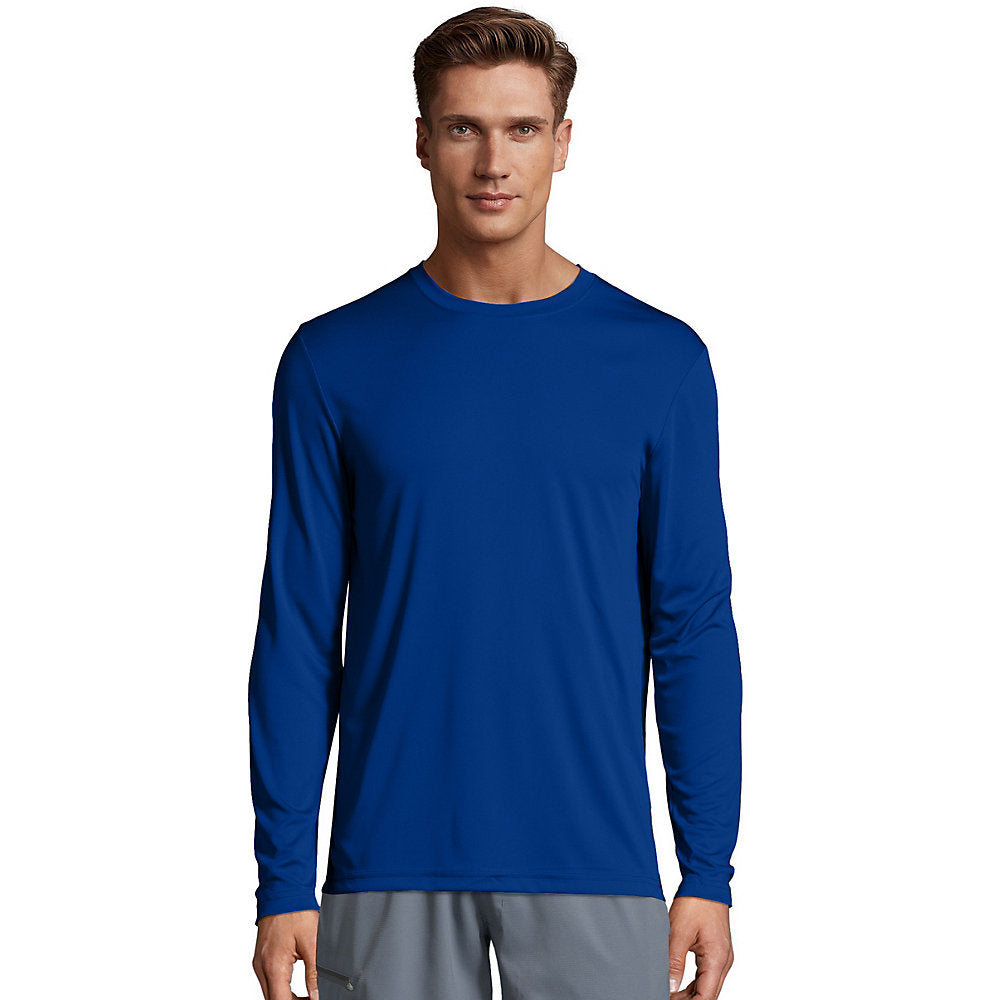 Hanes Cool DRI Performance Men's Long-Sleeve T-Shirt - 482L