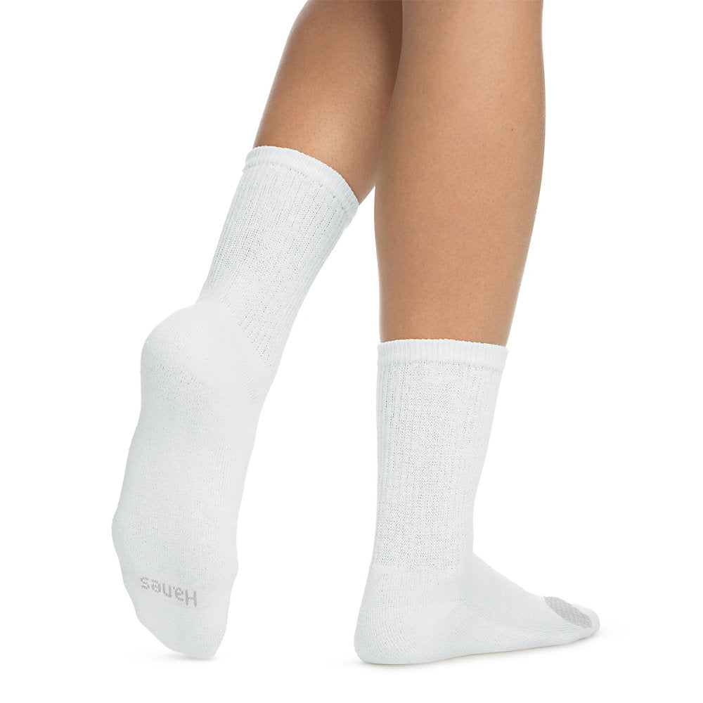 Hanes Women's Cool Comfort Crew Socks 6-Pack - 683V6