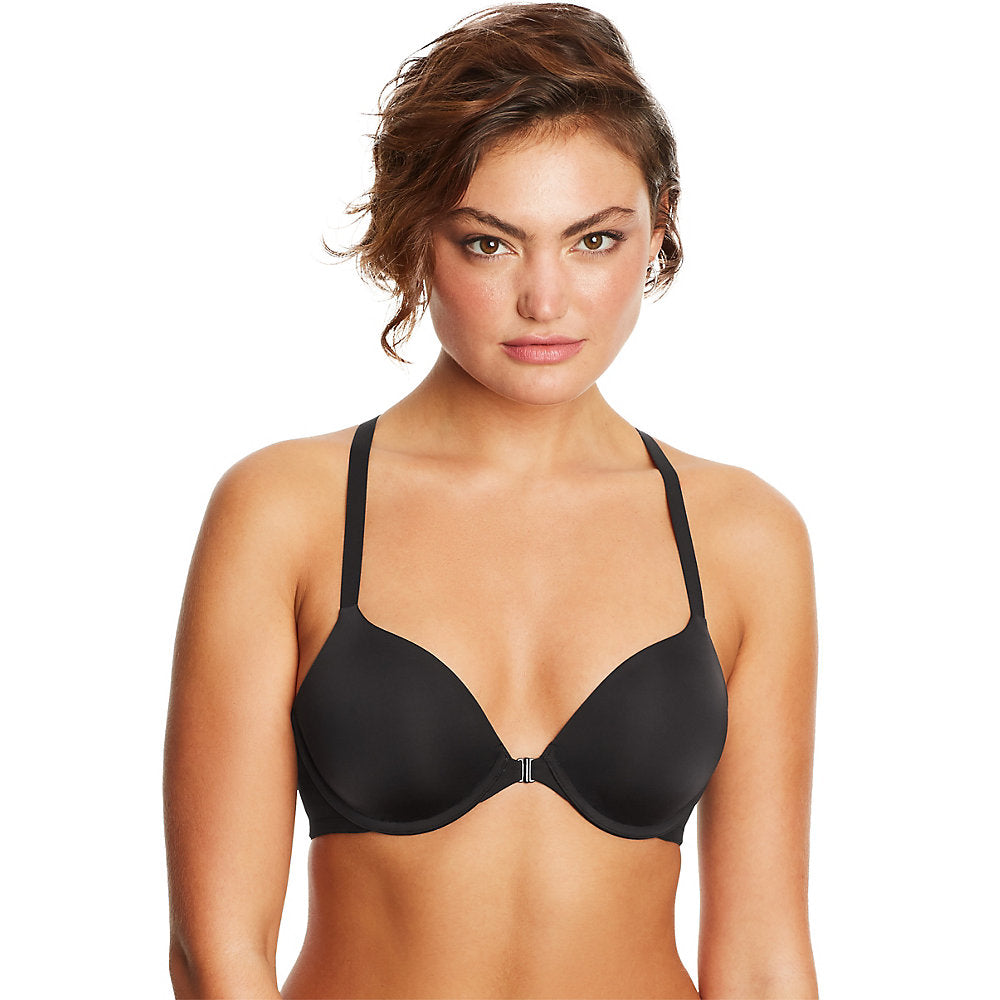 Maidenform DM7550 One Fabulous Fit 2.0 Modern Demi Racerback Underwire Bra