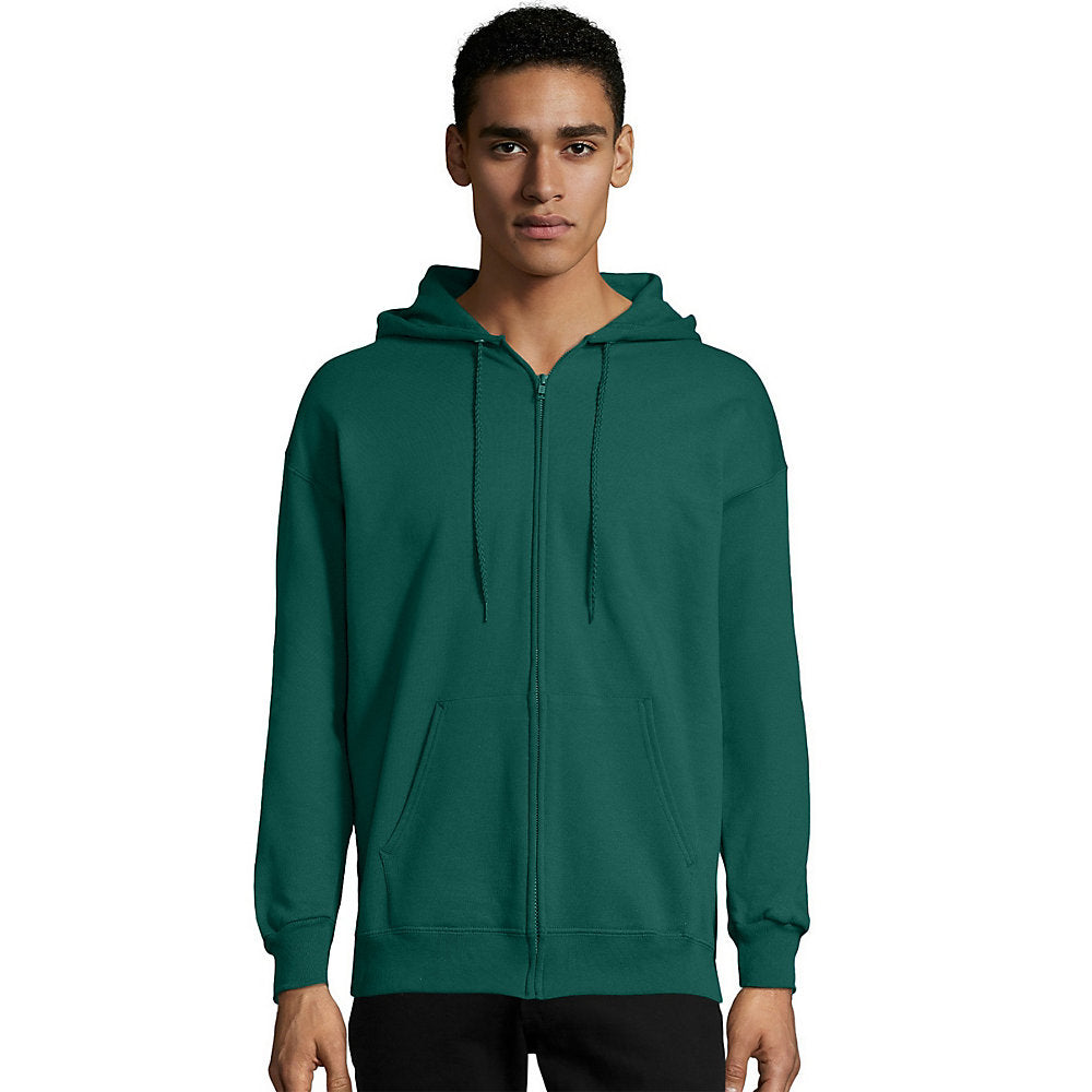 Hanes Men's Ultimate Cotton Heavyweight Full Zip Hoodie (F280) - F283